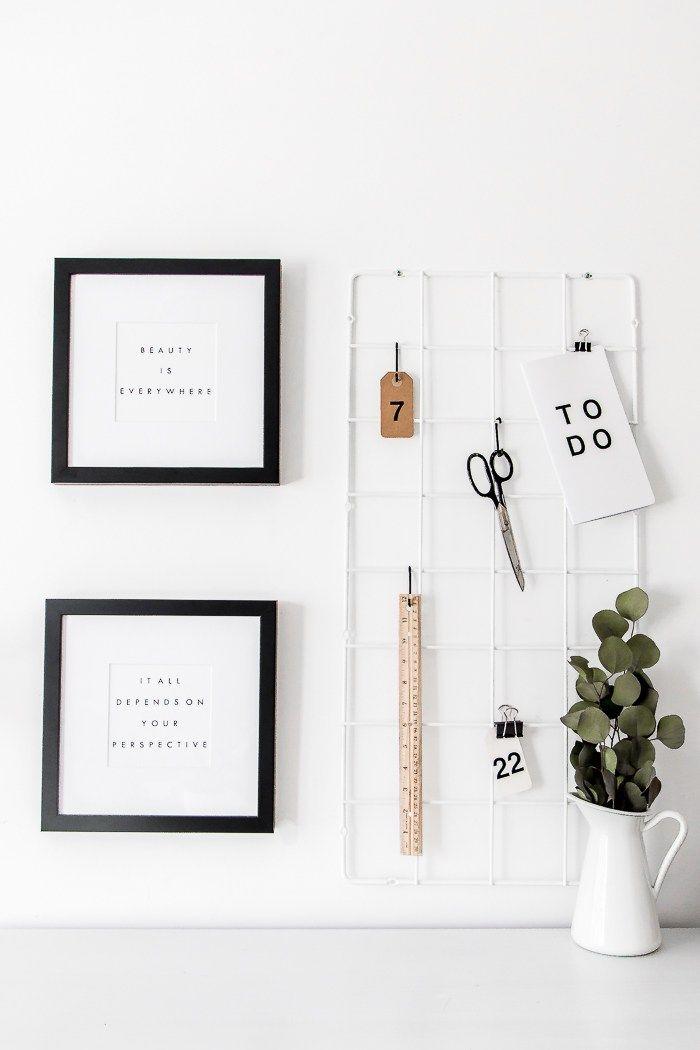 einfache IKEA Hacks: Grid Moodboard The Beauty Dojo