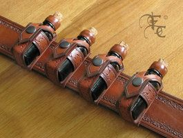 flask holsters by ~I-TAVARON-I on deviantART