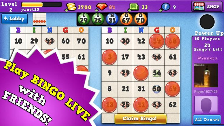 41++ Different types of bingo games to play ideas