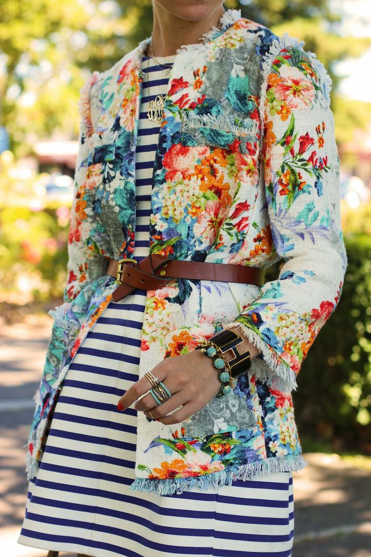 Atlantic-Pacific: stripes & florals on repeat