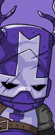 purple knight   Blacksmith the Purple Knight - Castle Crashers Wiki - Levels ...