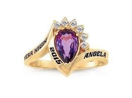 Resultado de imagen para anillos de grado para dama