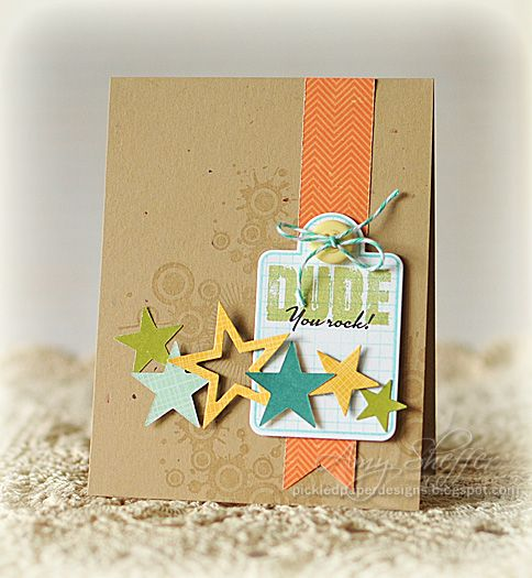 Pickled Paper Designs: Dude, You Rock!