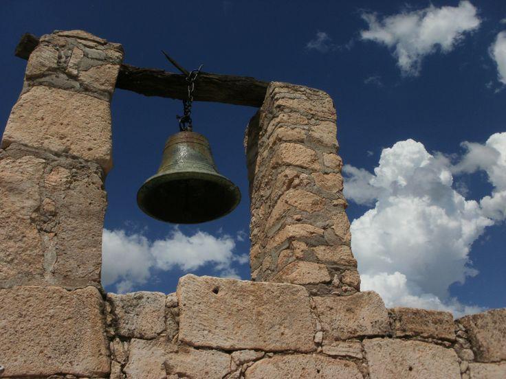 Ruinas de un templo en Cucurpe, Sonora.