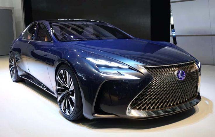 2018 Lexus LS overview