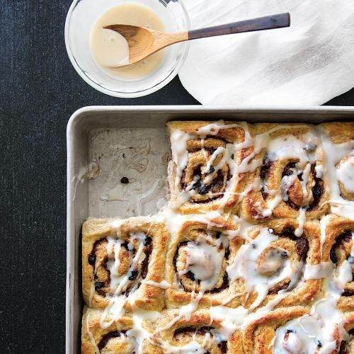 Cinnamon Rolls with Dates | These rolls deliver hints of sweet citrus ...