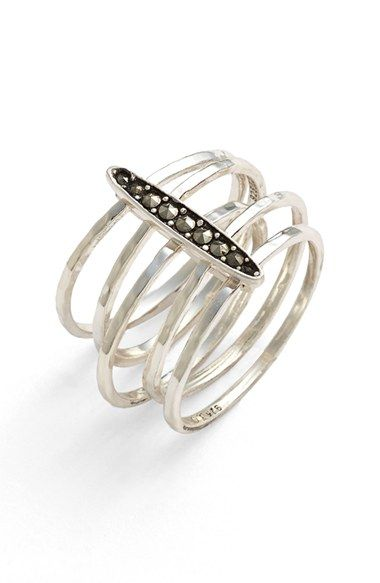 Judith+Jack+'Rings+&+Things'+Stack+Ring+available+at+#Nordstrom