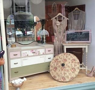 Skylar-Belle Vintage Painted Dressing Table