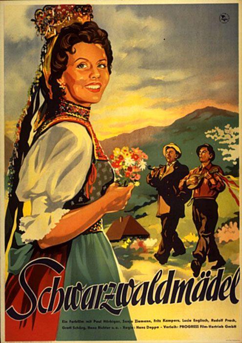Poster zum Film: Schwarzwaldmädel