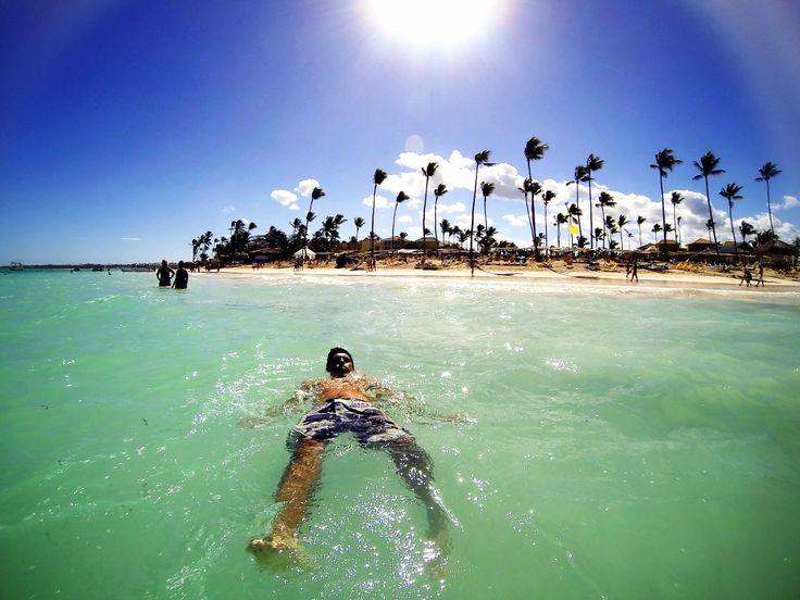 Relax, en playas dominicanas