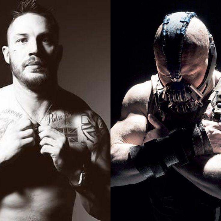Tom Hardy // Bane. I h...