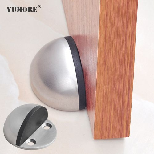 High Quality Stainless Steel Door Stopper Corrosion Resistanc Very Durable Modern Design Floor Bumper Door Stop Th Door Stopper Metal Door Wooden Door Stops