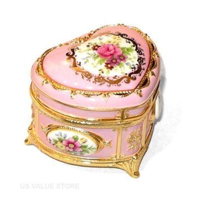 Tall Jewelry Boxes  Women on The Cutest Jewelry Boxes For Girls