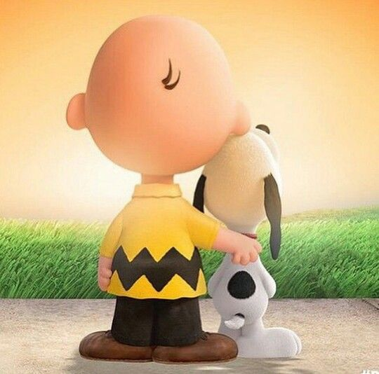 <3Snoopy & Charlie Brown <3
