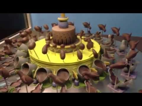 A Chocolate Zoetrope at the Phillip Island Chocolate Factory | Colossal