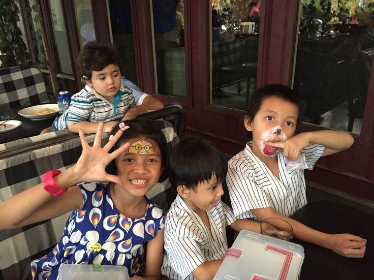 Kiddos face painting