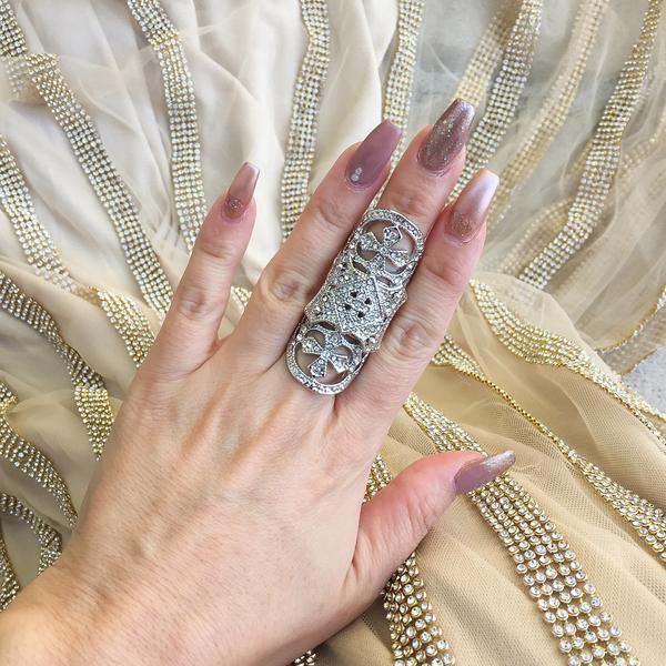 Alexandra Knuckle Ring