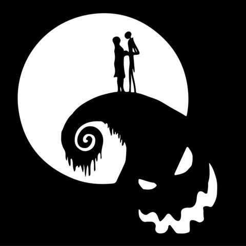 Nightmare Before Christmas Jack And Sally On Oogie