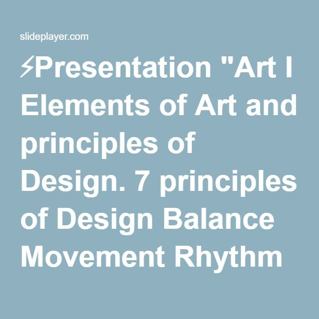 Elements And Principles Of Design Contrast : Best ideas about elements of art on pinterest
