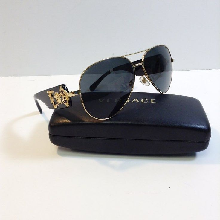 Title:Versace Black and Gold Aviators Price: $149.99 Item #:6513-12936 Location: Sandy Springs To purchase or see more pictures and details go to our website click link on bio and type the item# on our search bar on the website or call 770.390.0010 ex. 3 #Versace #sunnies #sunglasses #gold #black #medusa #gold rim #baroque #case #alexissuitcase #sandysprings #atl #atlantaconsignment #thriftatl #resale #highenddesigner #consignment #luxury #designer #resaleatlanta #boutique #atlanta…