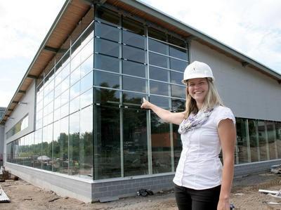 Building the new Gravenhurst YMCA facility.