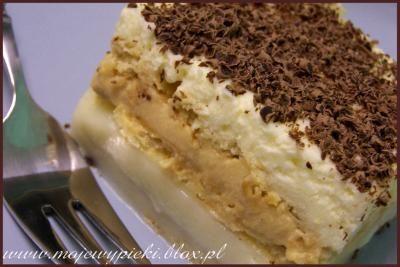 Ciasto toffi (z krakersami i bez pieczenia)