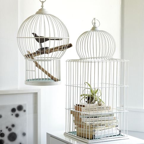 Chic bird cages