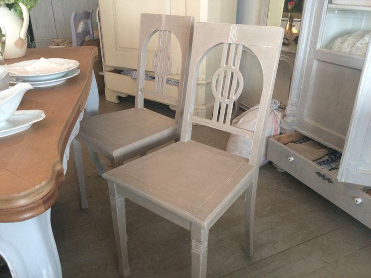 Stühle - antike Stühle im Shabby-Stil - ein Designerstück von RomAntik-andrea bei DaWanda