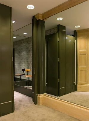 32 Best Fitting Rooms Images On Pinterest Closet Rooms