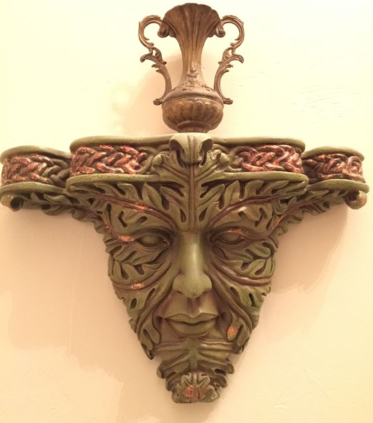 Greenman/Jack-in-the-Green ~ Collection of Rebekah Myers Dunford