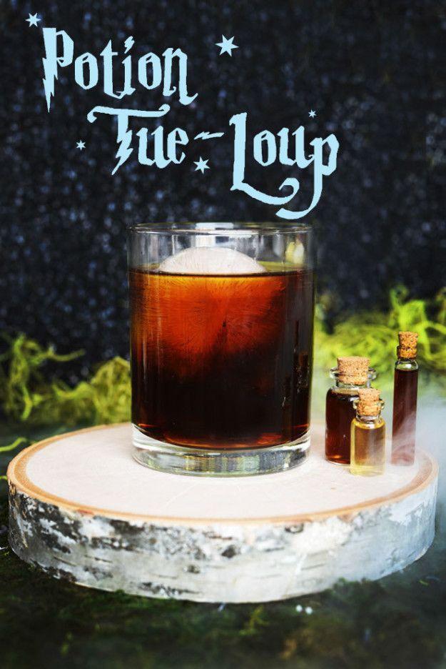 La potion Tue-loup | 8 cocktails Harry Potter qui vont vous ensorceler