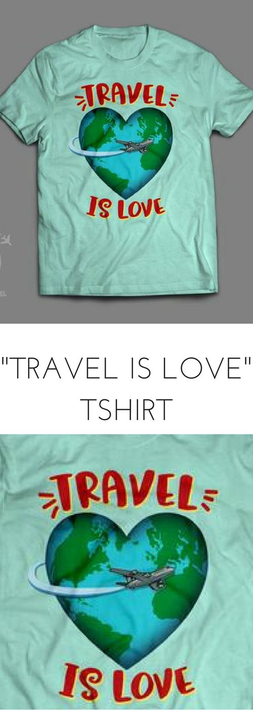 Show some travel love! This super-soft, baby-knit t-shirt looks great on any lady and fits like a well-loved favorite. Made from a cotton/polyester blend, this shirt will hold up well against shrinking and fading, making sure it looks great flight after flight!