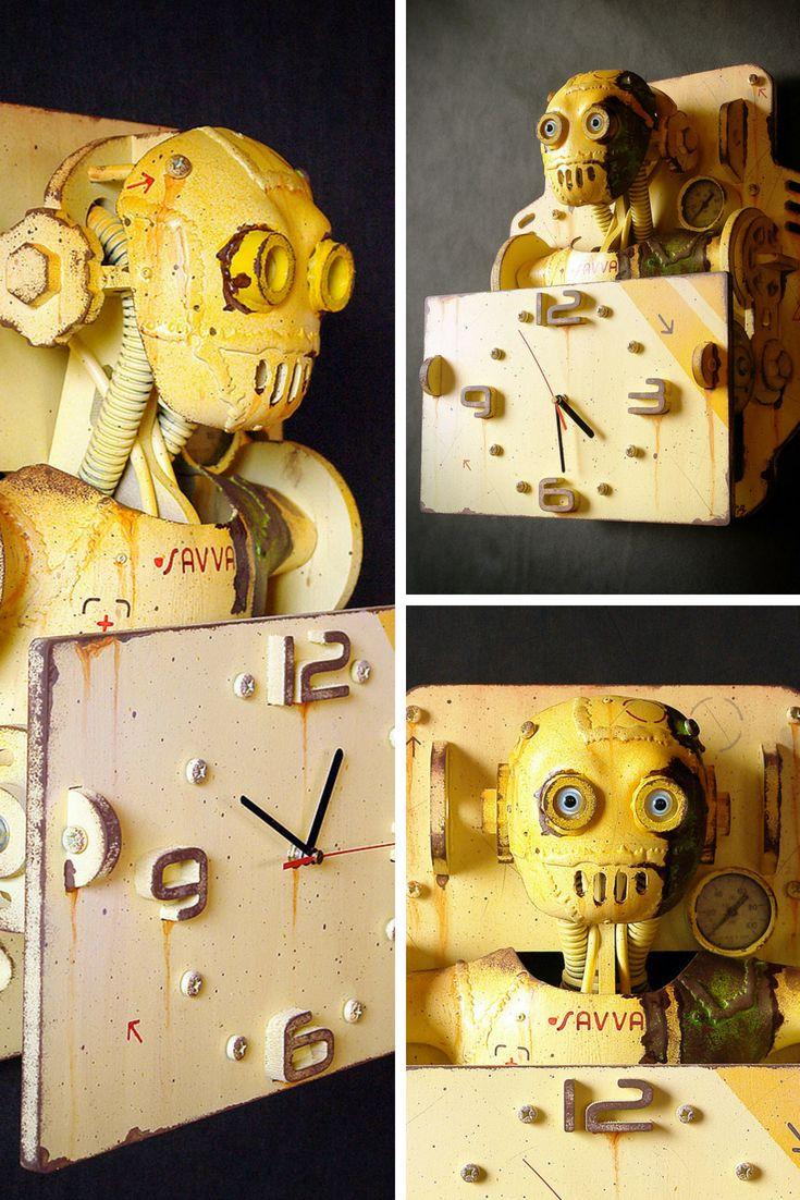 18 best Steampunk Decor, Robots, Wall Art Decor by RenardRobot ...