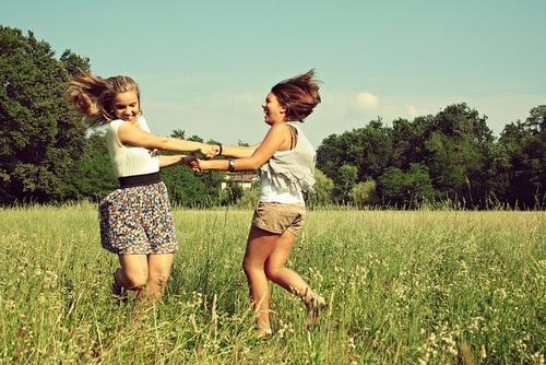 cute photo idea for girls