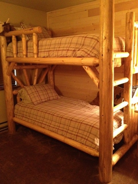HGTV DREAM HOME Log And Timber Bunk Beds Colorado Log Furniture Serving  California , Utah ,