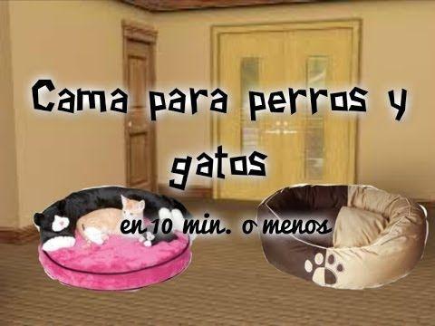 Como Hacer una cama para perros / gatos en menos de 10 min. - YouTube