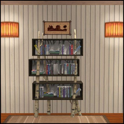 Backwoods Bookshelf