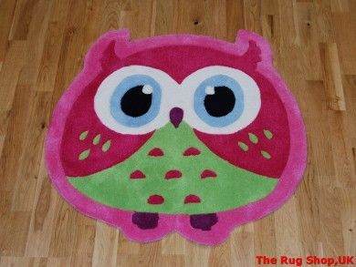 Best Buying Guide And Review Of Owl Print Pink Children Rug With Price