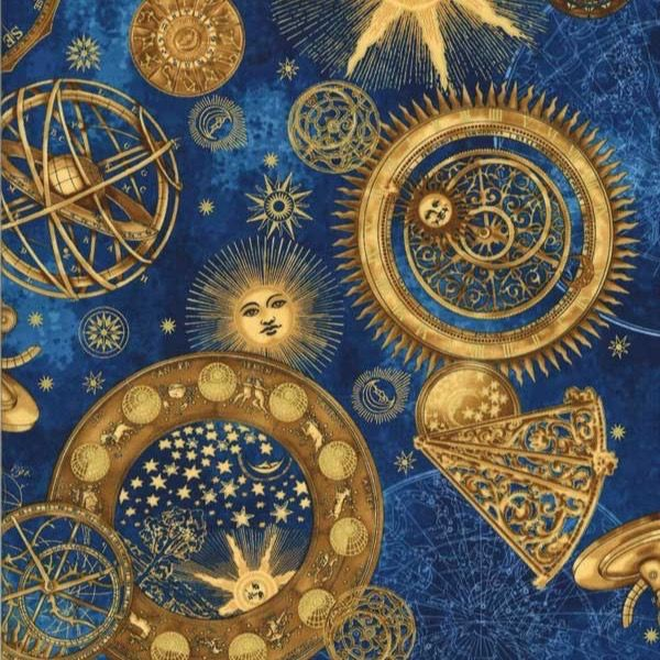 267 best wallpapers images on pinterest for Celestial pattern fabric