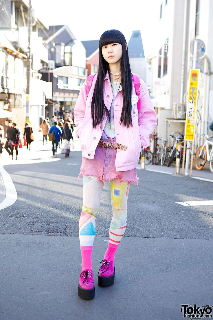 Find This Pin And More On Harajuku  E  A Kawaii Cute Girls Japanese Street Fashion