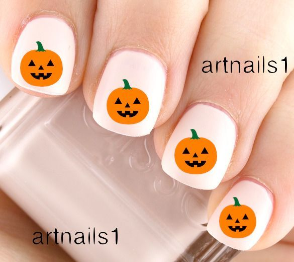 Simple Skin Care Tips And Advice For You Pumpkin Nails Halloween Nail Designs Kids Nail Designs