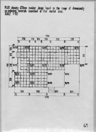 Walter Segal House plans