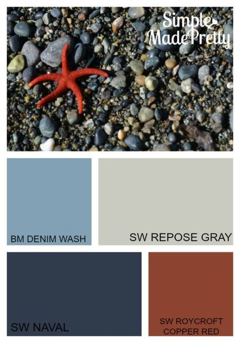 These boys bedroom colors is perfect for a sports themed bedroom, nautical themed bedroom, super themed bedroom, and other boys bedroom ideas. Paint these colors in a toddler, tween or teen boy's bedroom and easily switch the them of the room.