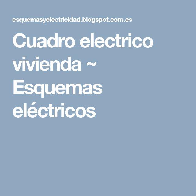 M s de 25 ideas incre bles sobre cuadro electrico en - Cuadro electrico vivienda ...