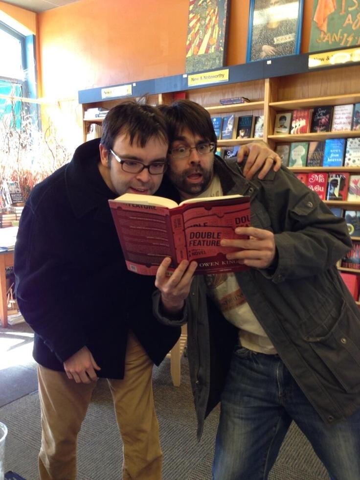 Joe Hill and Owen King - Writers Extraordinaire