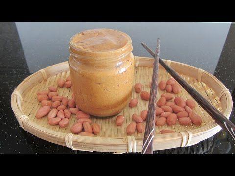Арахисовое масло рецепт Арахисовая паста как сделать арахисовое масло dầu lạc - YouTube