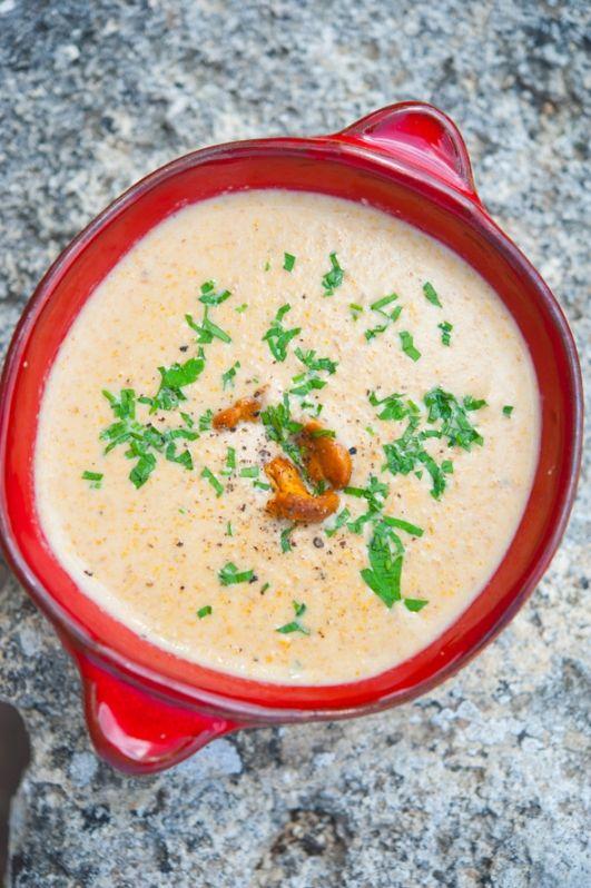 Крем-суп с лисичками / Vellutata di gallinacci | Элла Мартино Рецепты Кулинарные туры Итальянская кухня