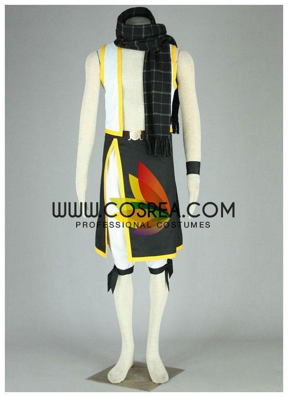 Fairy Tail Natsu Season 2 Cosplay Costume