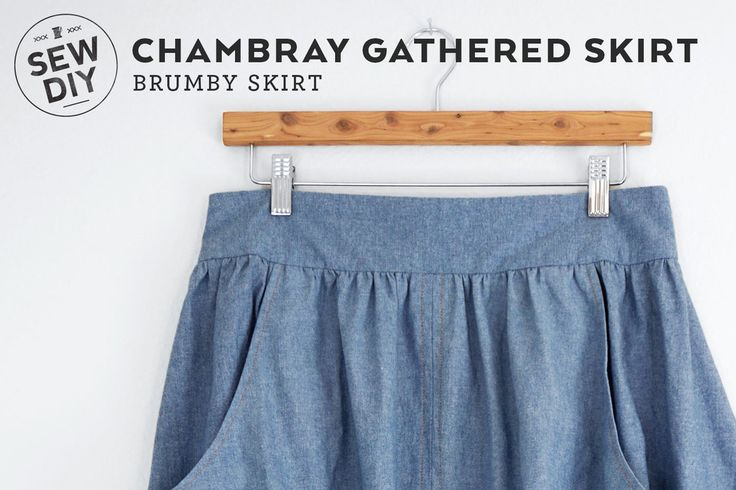 I've had my eye on the Brumby Skirt pattern by Megan Nielsen for a quite a while. Those deep curved pockets combined with the exposed zipper and tall waistband. It's just to die for. My European vacation was the perfect excuse to make it. This is a really fun skirt to make and to wear and a