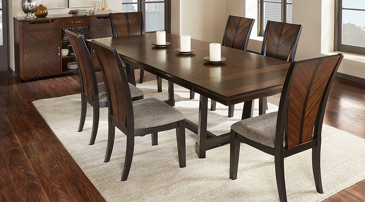 Black Wood Dining Room Set Glamorous Design Inspiration